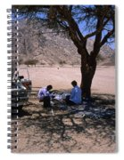 Lunchtime In The Desert Of Sinai Spiral Notebook