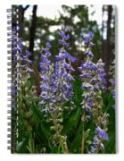 Lupine Patch Spiral Notebook