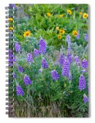 Lupines Spiral Notebook