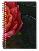 Lush Lily Spiral Notebook