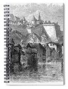 Luxembourg, 19th Century Spiral Notebook