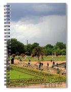 Luxembourg Gardens Spiral Notebook