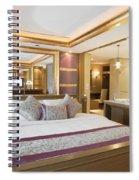 Luxury Bedroom Spiral Notebook