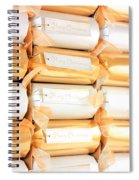 Luxury Christmas Crackers Spiral Notebook