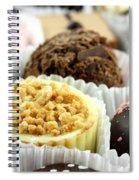 Luxury Individual Chocolates Spiral Notebook