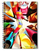 M-m-m My Stilettos Spiral Notebook