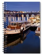 Maastricht Jetty On Maas River Spiral Notebook
