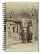 Mabel's Gate As Antique Print Spiral Notebook