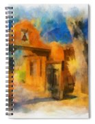 Mabel's Gate Watercolor Spiral Notebook