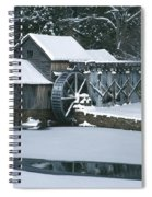 Mabry Mill Winter Spiral Notebook