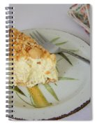 Macadamia Nut Cream Pie Slice Spiral Notebook