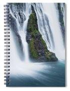 Macarthur-burney Falls 1 Spiral Notebook