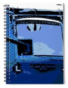 Machine Gun Spiral Notebook