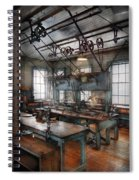 Machinist - Steampunk - The Contraption Room Spiral Notebook