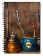 Machinist - Tools - Lubrication Dispensers  Spiral Notebook