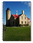 Mackinac Island Lighthouse Spiral Notebook