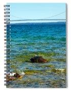 Mackinac On The Rocks Spiral Notebook