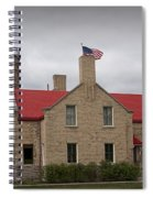 Mackinaw City Lighthouse Number 2446 Spiral Notebook