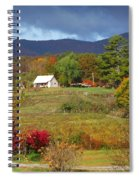 Mack's Farm In The Fall 2 Filtered Spiral Notebook