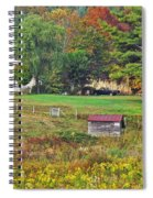 Mack's Farm In The Fall Spiral Notebook