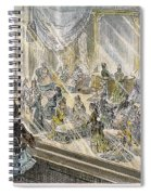 Macys Holiday Display, 1876 Spiral Notebook