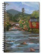 Mad River And Campton Bridge Spiral Notebook