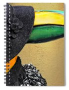Madame Toucan Of New Orleans Spiral Notebook
