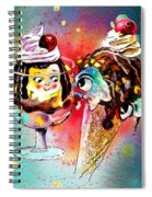 Made For Each Other Spiral Notebook