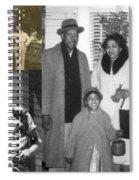 Madge Walker And Her Husband Spiral Notebook