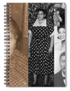 Madge's Mother And Grandfather Spiral Notebook