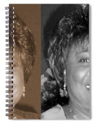 Madge's Sister Aunt Shirley Spiral Notebook