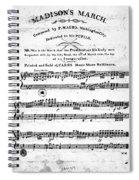 Madison: Inauguration Spiral Notebook