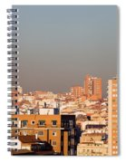 Madrid Cityscape Spiral Notebook