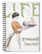 Magazine: Life, 1903 Spiral Notebook