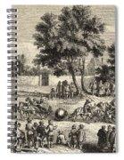 Magdeburg Hemispheres, 17th Century Spiral Notebook