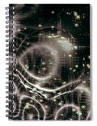 Magic Nights Spiral Notebook