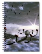 Magic Shrooms Spiral Notebook