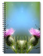 Magical Butterflies Spiral Notebook