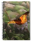 Magical Places For Butterflies Spiral Notebook