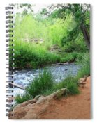 Magical Trees At Red Rock Crossing Spiral Notebook