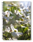 Magical White Flowering Dogwood Blossoms Spiral Notebook