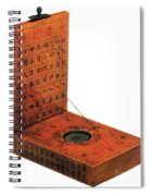 Magnetic Compass Spiral Notebook