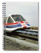 Magnetic Levitation Train Spiral Notebook
