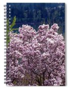 Magnolia By The Lake Spiral Notebook