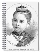 Maha Vajirunhis Spiral Notebook