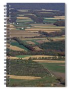 Mahantango Creek Watershed, Pa Spiral Notebook