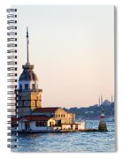 Maiden Tower In Istanbul Spiral Notebook