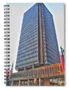 Main Place Tower Spiral Notebook