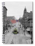 Main Street America Spiral Notebook