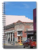 Main Street In Silver City Nm Spiral Notebook